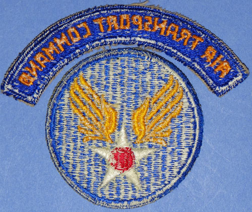 "WW II USAAF ""Air Transport Command"" Patch"