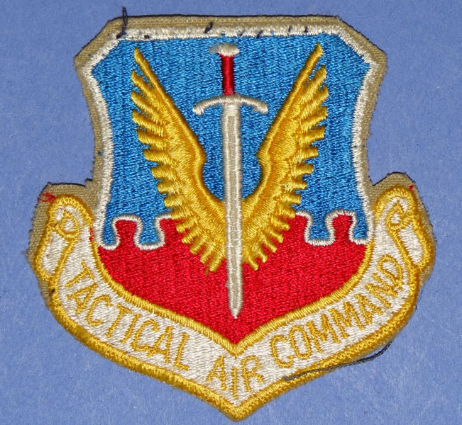 "USAF ""Tactical Air Command"" Patch"