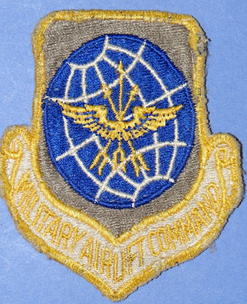 "USAF ""Military Airlift Command"" Patch"