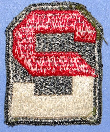 Vietnam Period 2nd Army Shoulder Patch