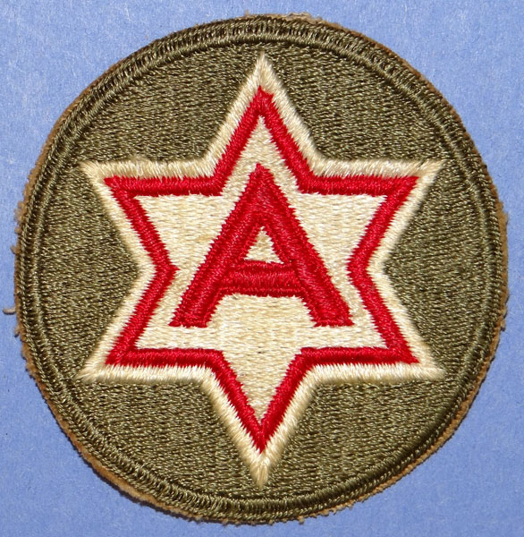 WW II 6th Army Patch - US Patches - Jessen's Relics Military