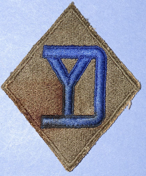WW II 26th Div. Patch