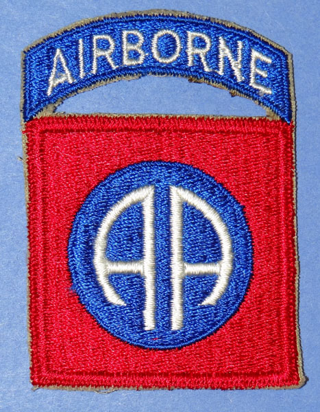 82nd Airborne Div. Patchs