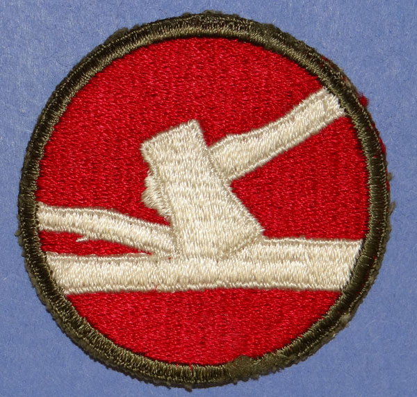WW II 84th Infantry Div. Patch
