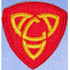 WW II AA Command Central Patch