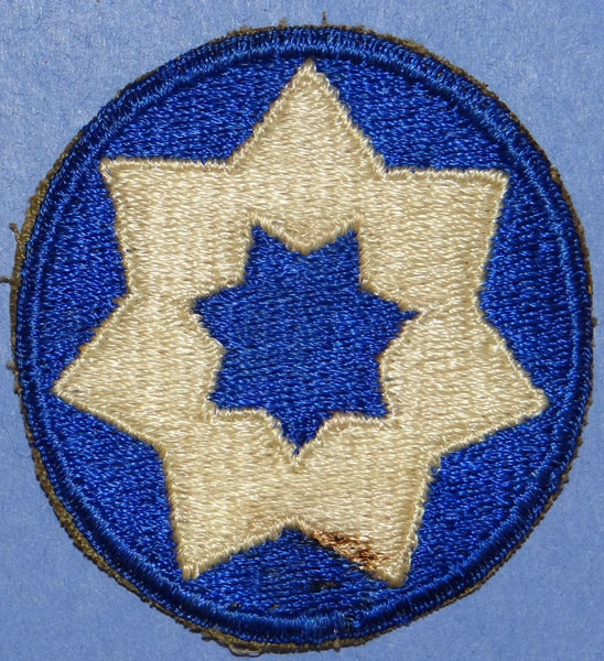 WW II 7th Service Command Patch