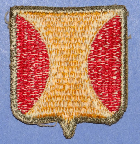 WW II Panama Canal Department Patch