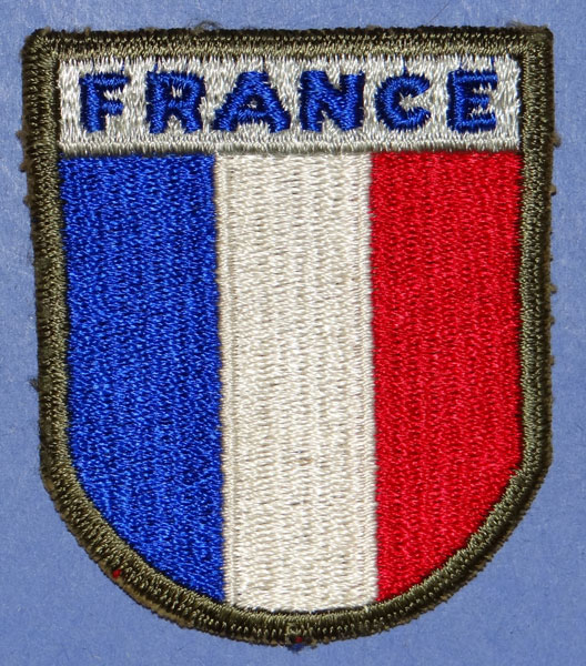 WW II French Troops in America Patch