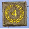 Army Meritorious Unit Citation 4th Award Patch