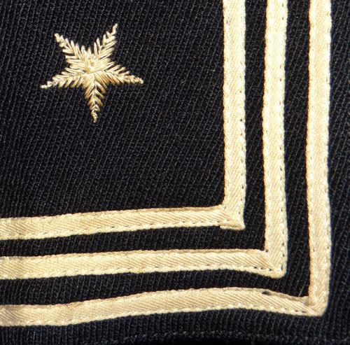 "WW II U.S. Navy 1st Class Petty Officers ""Parachute Rigger"" Dark Blue Jumper"