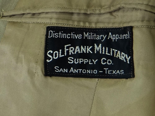 WW II NAMED U.S. Army Air Force Officer Service Coat