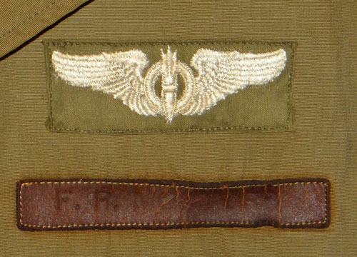 Named WW II 8th Army Air Force Service Coat, M41 Field Jacket & Type B-15A Flight Jacket