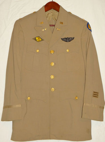 WW II U.S. 15th Army Air Force 1st Lt. Service Coat
